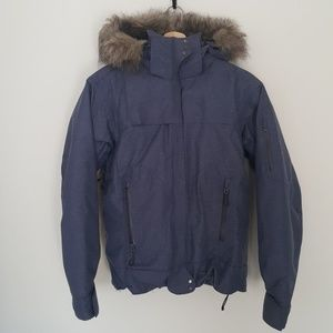 Columbia Titanium Denim Look Winter Coat Small